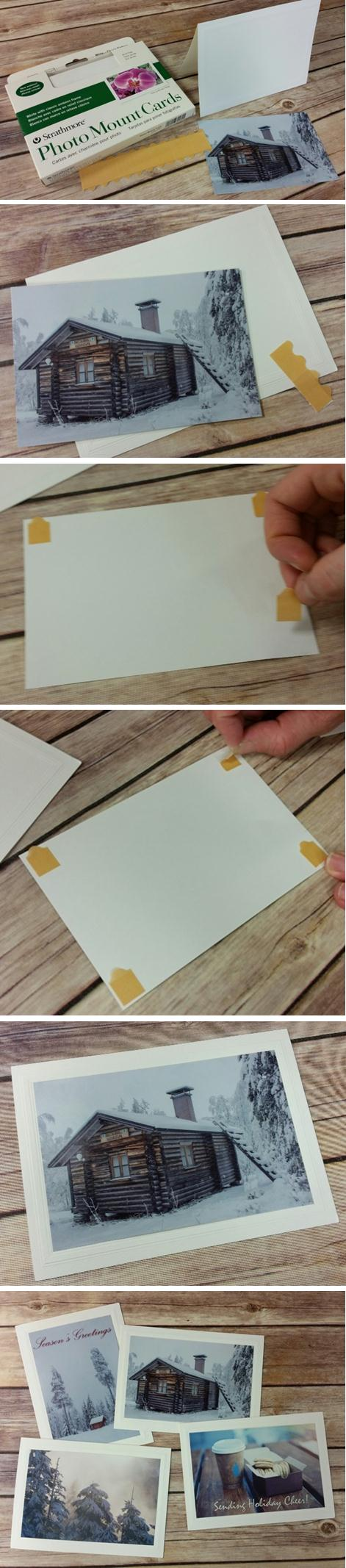 How-to Photo Mount Cards