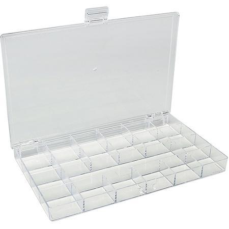 Boîte de rangement pour perles en plastique