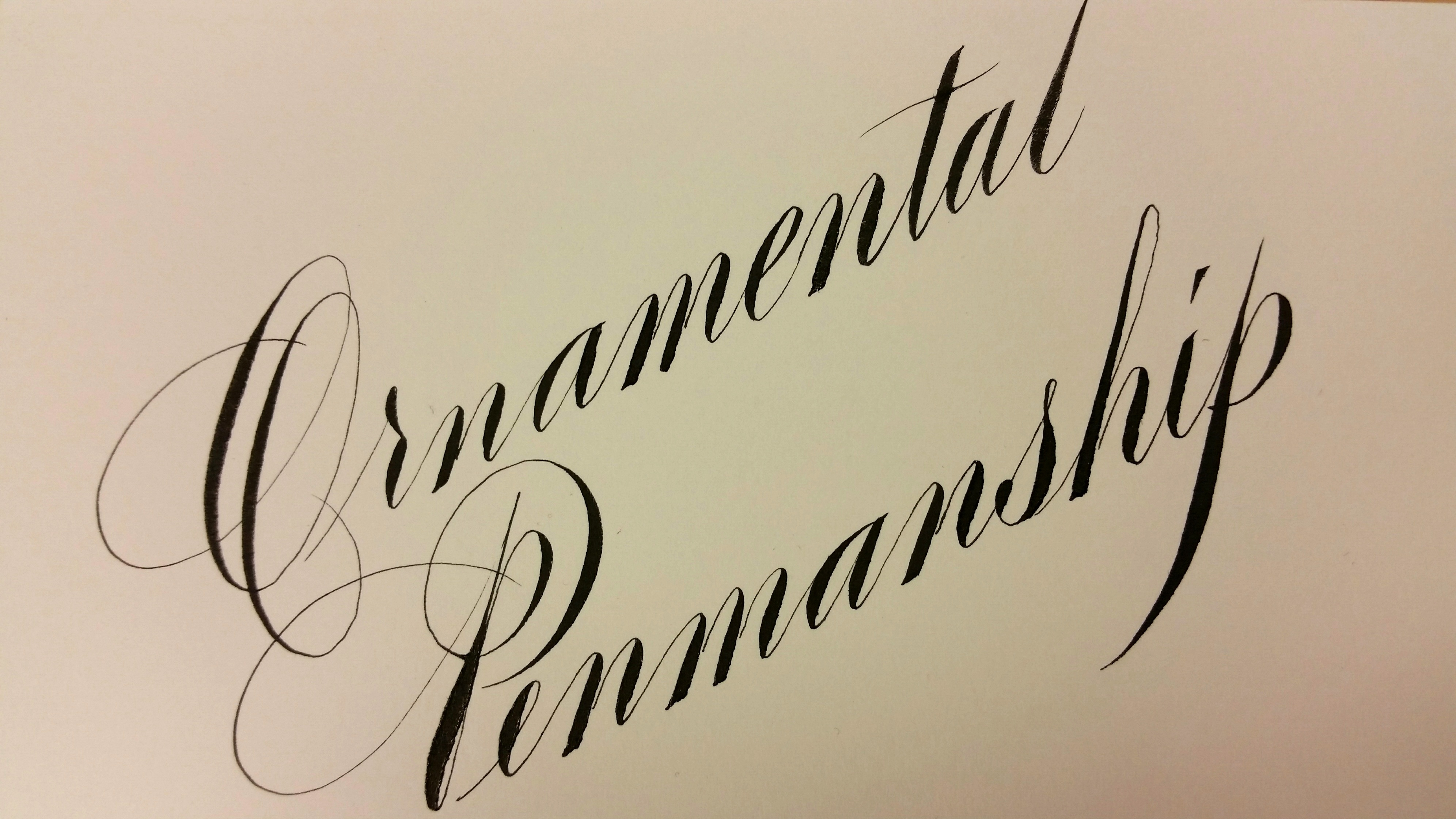 Ornamental Penmanship