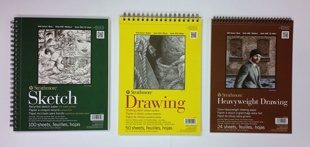Strathmore Sketch + Drawing Pads