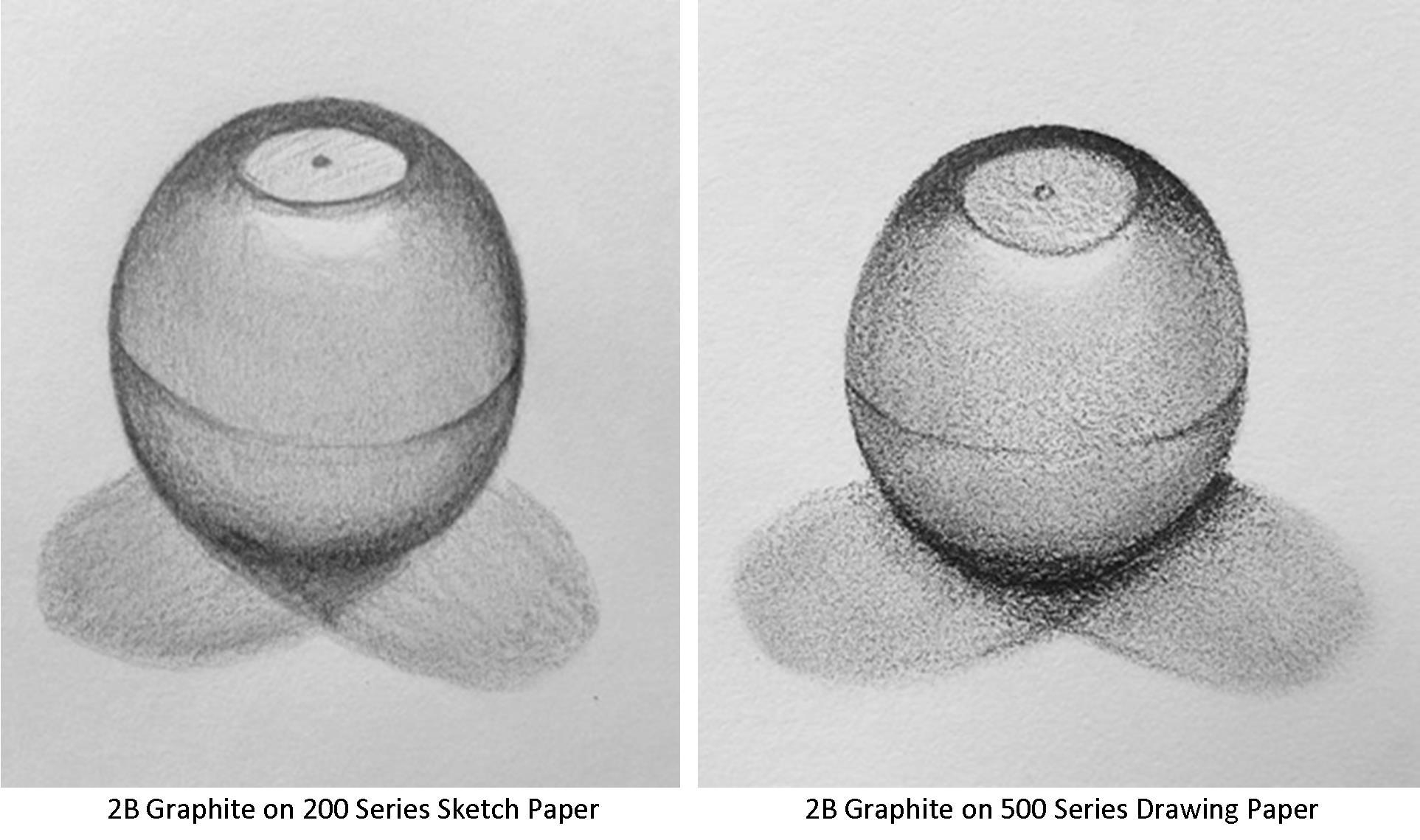 Papier à croquis ou papier à dessin