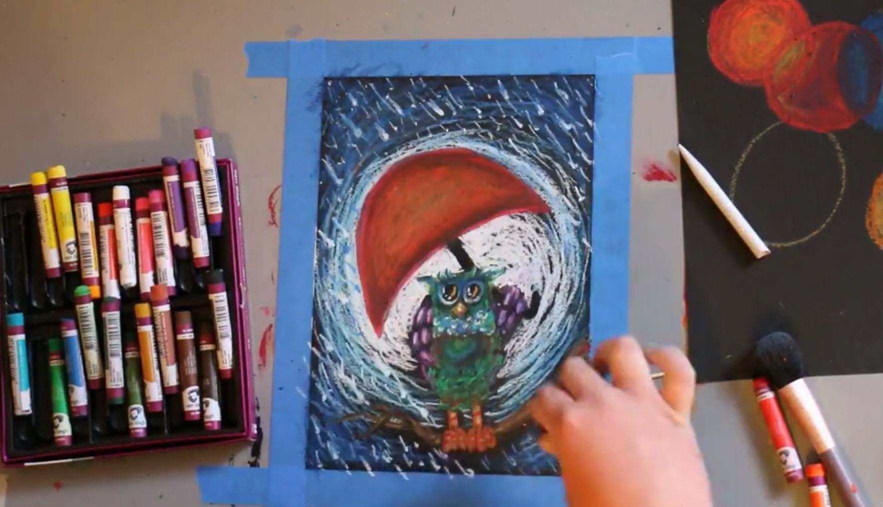 Pastel Techniques Workshop Strathmore Artist Papers