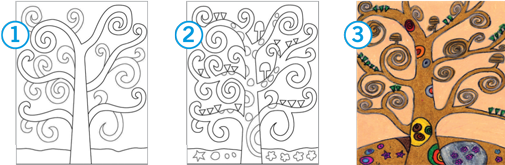 Draw Klimt S Tree Of Life Strathmore Artist Papers