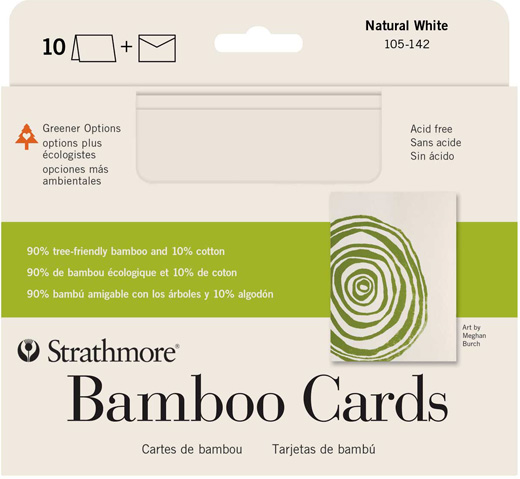 Bamboo cards strathmore artist papers m4hsunfo