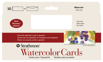 Watercolor cards strathmore artist papers watercolor cards watercolor cards slim m4hsunfo