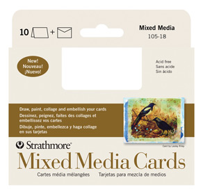 Mixed media cards strathmore artist papers m4hsunfo